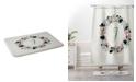Deny Designs Iveta Abolina Silver Dove Christmas J Bath Mat