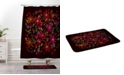 Deny Designs Iveta Abolina Silent Night Red Bath Mat
