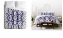 Deny Designs Holli Zollinger Tree Silhouette Queen Duvet Set