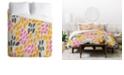 Deny Designs Holli Zollinger Calissi Light Queen Duvet Set