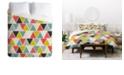 Deny Designs Heather Dutton Triangulum Queen Duvet Set