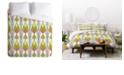 Deny Designs Heather Dutton Arcada Citrus Twin Duvet Set