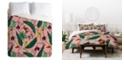 Deny Designs Holli Zollinger Orchid Garden Pink King Duvet Set