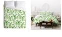 Deny Designs Heather Dutton Cactus Gardens Twin Duvet Set