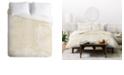 Deny Designs Holli Zollinger Palm Linen King Duvet Set