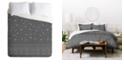 Deny Designs Iveta Abolina Study in Gray IX Twin Duvet Set