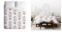 Deny Designs Iveta Abolina Strawberry Punch Twin Duvet Set