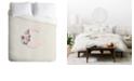 Deny Designs Iveta Abolina Pivoine C Twin Duvet Set