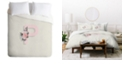Deny Designs Iveta Abolina Pivoine P Queen Duvet Set