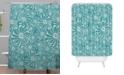 Deny Designs Heather Dutton Bursting Bloom Peacock Shower Curtain