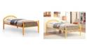 Furniture of America Capelli Full Metal Slat Bed