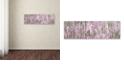 "Trademark Global Cora Niele 'Heather Scape' Canvas Art, 8"" x 24"""