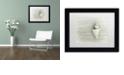 "Trademark Global Cora Niele 'Japanese Wonder Shell' Matted Framed Art, 11"" x 14"""