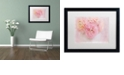 "Trademark Global Cora Niele 'Chique Bouquet' Matted Framed Art, 16"" x 20"""