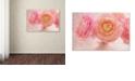 "Trademark Global Cora Niele 'Pink Persian Buttercup Bouquet' Canvas Art, 22"" x 32"""