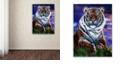 "Trademark Global Jenny Newland 'Arizona Tiger' Canvas Art, 24"" x 32"""