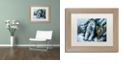 "Trademark Global Jenny Newland 'Big Brother' Matted Framed Art, 11"" x 14"""