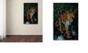 "Trademark Global Jenny Newland 'Watchful Eyes' Canvas Art, 16"" x 24"""