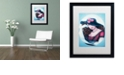 "Trademark Global Jenny Newland 'Lost Love' Matted Framed Art, 16"" x 20"""