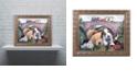 """Trademark Global Jenny Newland 'Choo, Choo, Chooed Out' Ornate Framed Art, 16"""" x 20"""""""