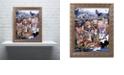 "Trademark Global Jenny Newland 'Forest Friends' Ornate Framed Art, 11"" x 14"""
