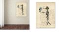 "Trademark Global Nick Bantock 'Agincourt' Canvas Art, 18"" x 24"""