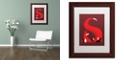 "Trademark Global Robert Farkas 'S Like Fox' Matted Framed Art, 11"" x 14"""