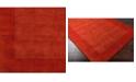 """Surya Mystique M-300 Burnt Orange 18"""" Square Swatch"""