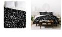 Deny Designs Iveta Abolina Chalk Crystals King Duvet Set