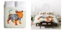 Deny Designs Iveta Abolina Puppy Frenchie King Duvet Set