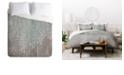 Deny Designs Iveta Abolina Coastal Raindrops King Duvet Set