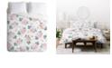 Deny Designs Iveta Abolina Rose Taffy King Duvet Set