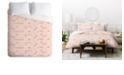 Deny Designs Iveta Abolina Pink Salt Queen Duvet Set