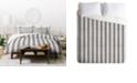 Deny Designs Holli Zollinger French Linen Seaside Stripe Twin Duvet Set