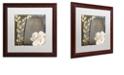 "Trademark Global Color Bakery 'India I' Matted Framed Art, 16"" x 16"""
