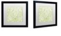 "Trademark Global Color Bakery 'Dulce Iv' Matted Framed Art, 16"" x 16"""