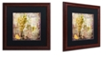 "Trademark Global Color Bakery 'Wine Country V' Matted Framed Art, 16"" x 16"""