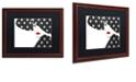 "Trademark Global Color Bakery 'Femme Den Iv' Matted Framed Art, 16"" x 20"""