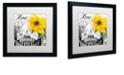 "Trademark Global Color Bakery 'Italia Ii' Matted Framed Art, 16"" x 16"""