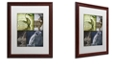 "Trademark Global Color Bakery 'Hunting Season Vii' Matted Framed Art, 16"" x 20"""