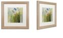 "Trademark Global Color Bakery 'Emily Ii' Matted Framed Art, 16"" x 16"""