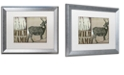 "Trademark Global Color Bakery 'Deer With White Tail' Matted Framed Art, 16"" x 20"""