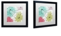 """Trademark Global Color Bakery 'Kasumi Two' Matted Framed Art, 16"""" x 16"""""""