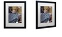 "Trademark Global Color Bakery 'On The Hunt V' Matted Framed Art, 16"" x 20"""