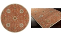 Surya Caesar CAE-1119 Clay 8' Round Area Rug