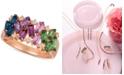 Le Vian Multi-Gemstone (1-1/3 ct. t.w.) & Nude™ Diamond (1/6 ct. t.w.) Ring in 14k Rose Gold