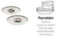 Portmeirion Botanic Garden Oval Dishes, Set of 2