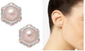 Charter Club Silver-Tone Imitation Pearl Stud Earrings, Created for Macy's