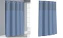 Hookless Victorian Satin Stripe 3-in-1 Shower Curtain