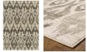 "Oriental Weavers Highlands 6301E Ivory/Gray 1'10"" x 3' Area Rug"